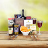 All A Board Wine Gift Basket, wine gift baskets, kosher gift baskets, gourmet gift baskets, gift baskets, Jewish holiday gift baskets, Purim gift baskets, Shabbat gift baskets, Passover gift baskets