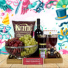 Kosher Wine & Snacking Basket, wine gift baskets, kosher gift baskets, gourmet gift baskets, gift baskets, Jewish holiday gift baskets, Purim gift baskets, Shabbat gift baskets, Passover gift baskets