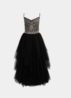 DOLLY BY LE PETIT TOM ® BEJEWELED TUTU DRESS BLACK for sale at Darling Loves.