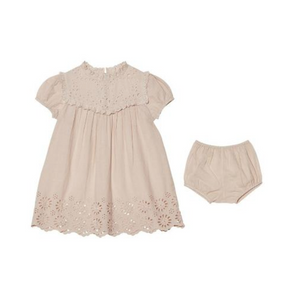 Tutu Du Monde BÉBÉ CLEMENTINE DRESS in Blush
