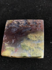 Beautiful Moss Agate Cabochon - 26 x 25.56 x 5.36mm Square - Indonesia