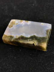 Beautiful Moss Agate Cabochon - 31.85 x 20.15 x 7.17mm Rectangle - Indonesia