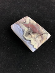Beautiful Moss Agate Cabochon - 38.04 x 25.7 x 6.82mm Rectangle - Indonesia