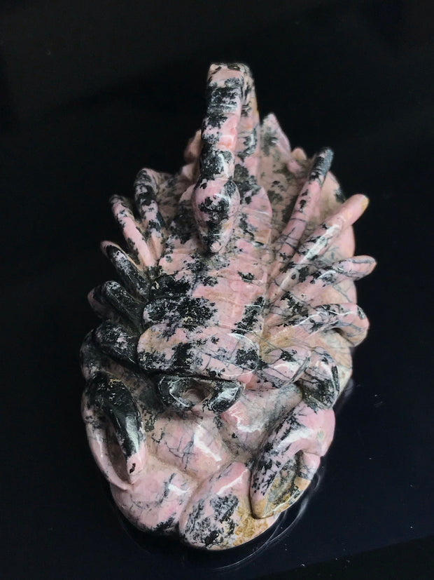 Scorpion Carving - Rhodenite