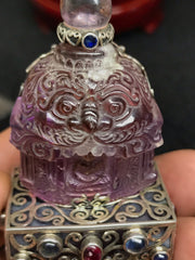 Buddha in Ametrine Temple - Carving