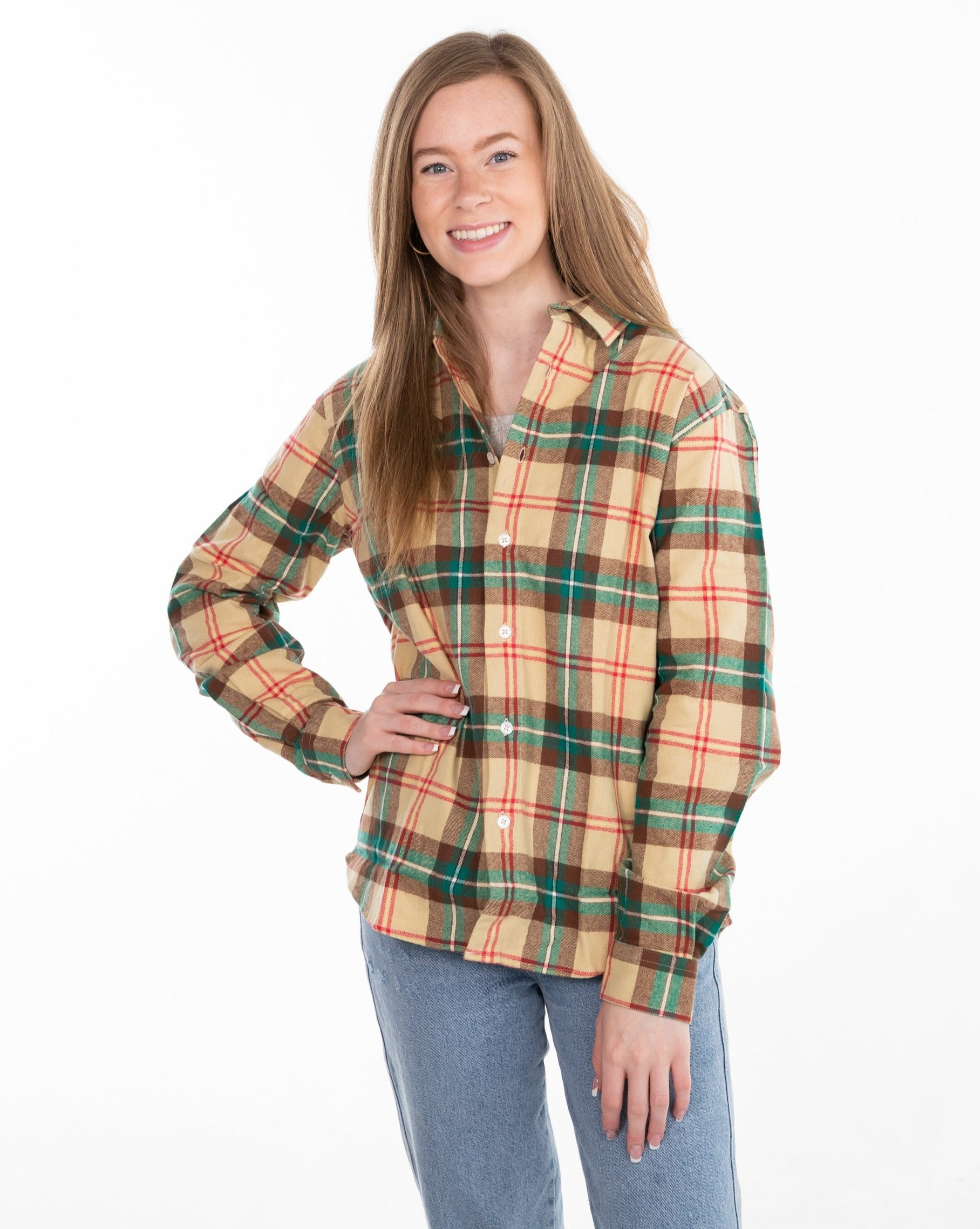 FLAT // Official Sask Tartan / Women's Preshrunk / Version 2.0