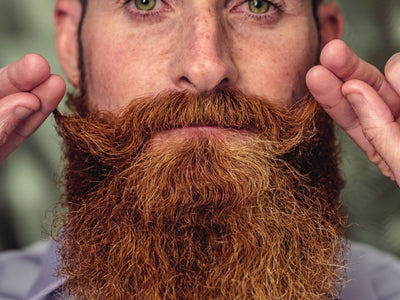 HOT? HANDSOME? - WHY GROWING A BEARD IS HEALTHY