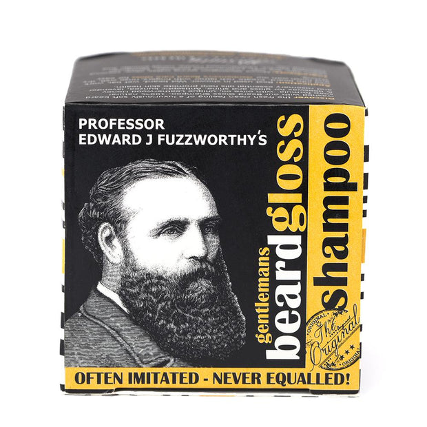 Solid Beard Shampoo Bar & Conditioner Bar - Professor Fuzzworthy Beard Care