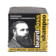 Beard Shampoo Bar & Beard Balm Gloss Pack - Professor Fuzzworthy Beard Care