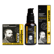 Professor Fuzzworthy Beard Kit - Beard Shampoo and Beard Oil