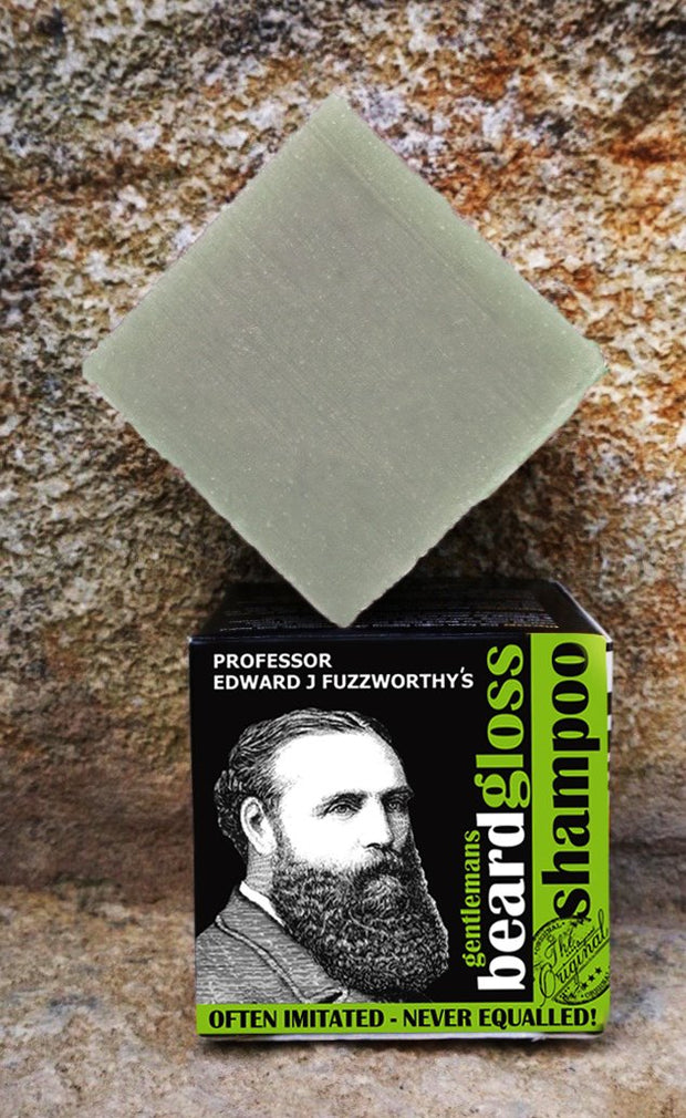 Apple Cider Vinegar Solid Beard Shampoo Bar - Professor Fuzzworthy Beard Care