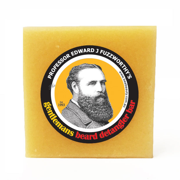 Beard Detangling Solid Conditioner Bar - Professor Fuzzworthy Beard Care