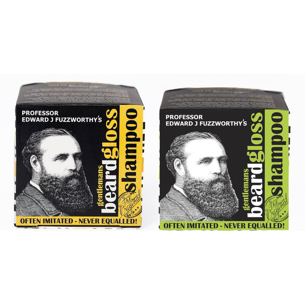 Professor Fuzzworthy's Solid Beard Shampoo Bar - Professor Fuzzworthy Beard Care