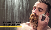 NEW Rhassoul Beard Shampoo Bar - TRIAL