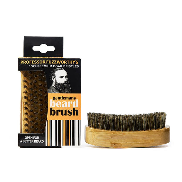 Professor Fuzzworthy's Boar Bristle Beard Brush - Professor Fuzzworthy Beard Care