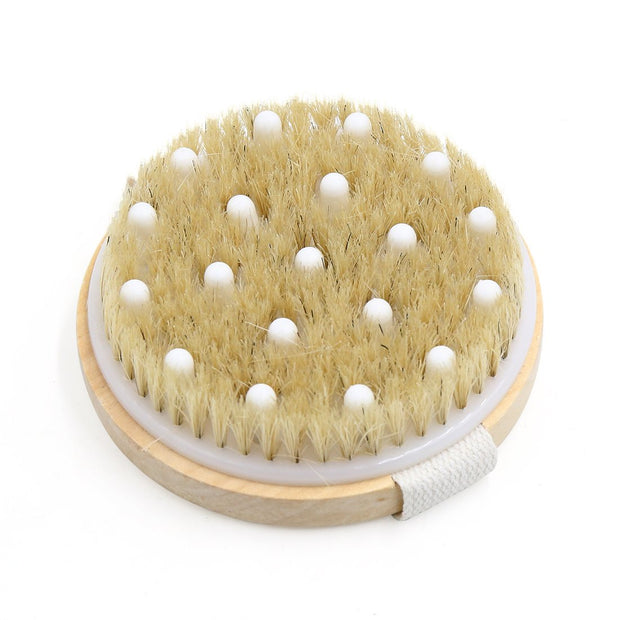 Soft Exfoliating Dry Body Brush - Professor Fuzzworthy Beard Care