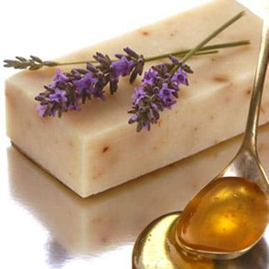 Tasmanian lavender flower and leatherwood honey solid soap bar - Professor Fuzzworthy Beard Care