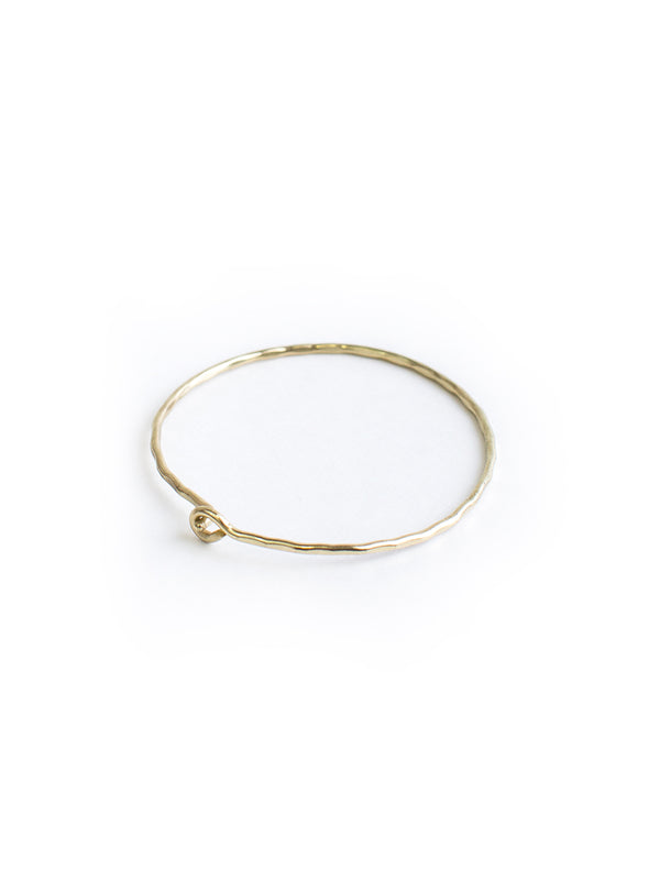 Sweet and Simple Gold Bracelet