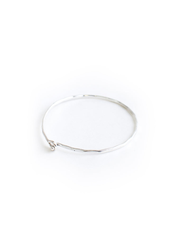 Sweet and Simple Silver Bracelet