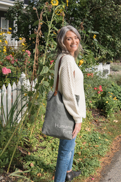 Humans First Tote