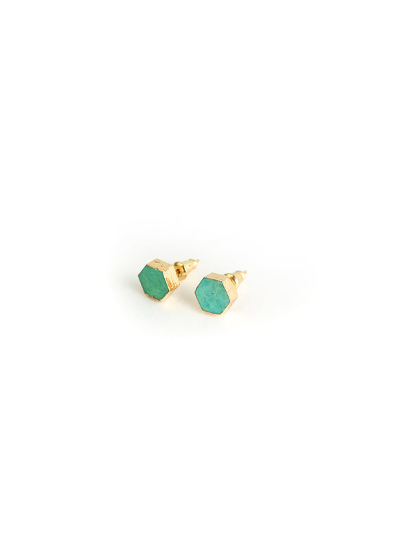 Turquoise Blue/Green Earrings