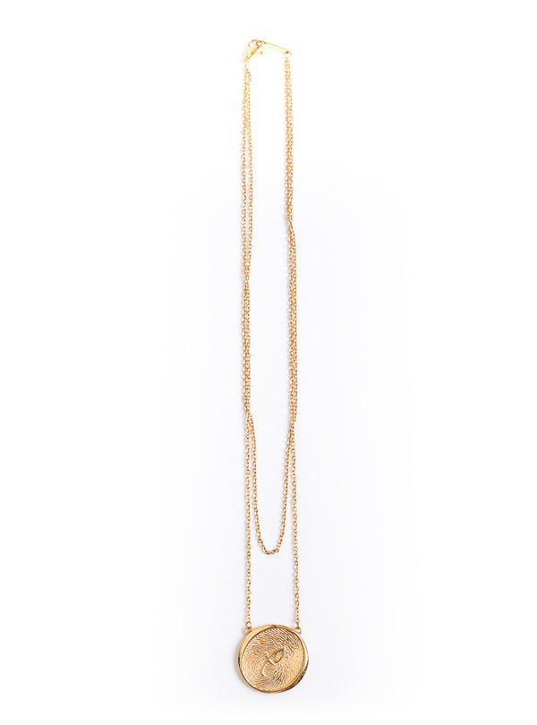 Kim XO Necklace Gold