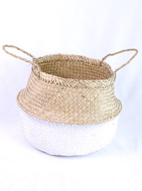 Belly Basket White