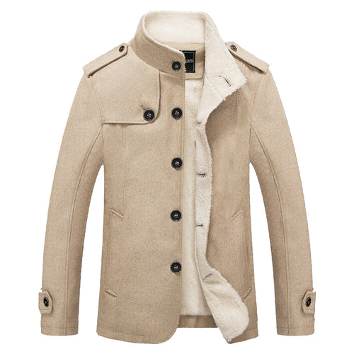 Shearling Single Breasted Jacket