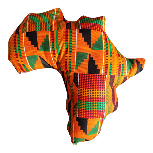 African kente Decor Pillow