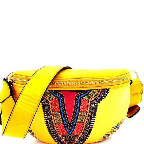 Dashiki Fanny Pack Waist Belt Bag
