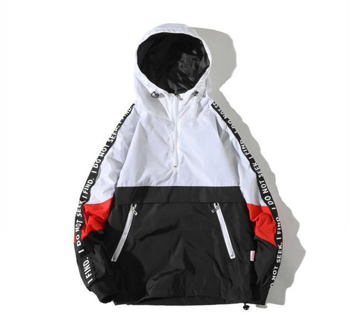 Fashion Tracksuit Jacket Men Hip Hop Streetwear Jacket
