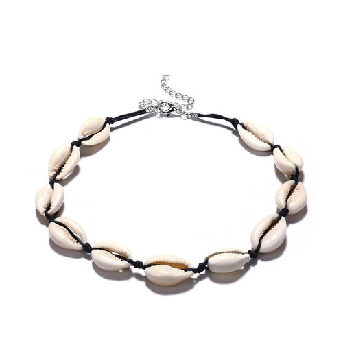 Seashells Collar Choker Necklace