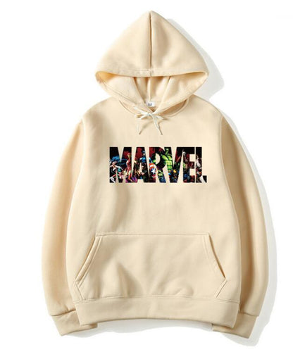 Marvel Hoodies men high quality Long sleeves Casual Sweatshirt Hoodies