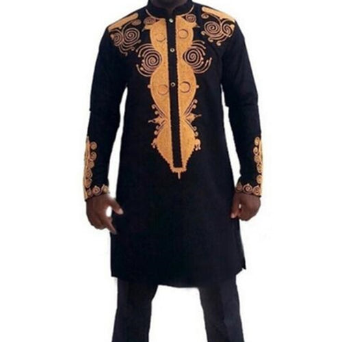 African Dashiki Traditional Maxi Man