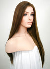 Brunette Straight Lace Front Synthetic Wig LF006
