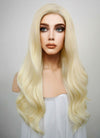 Wavy Light Blonde Lace Front Synthetic Wig LF120