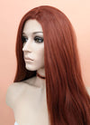Auburn Wavy Lace Front Synthetic Wig LF147