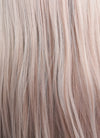 Pastel Pale Plum Straight Lace Front Synthetic Wig LF150G