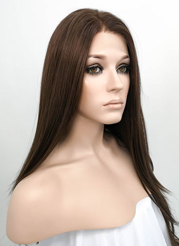 Wavy Mixed Light Blonde Lace Front Synthetic Wig LF148