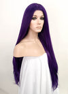Purple Straight Lace Front Synthetic Wig LF1646