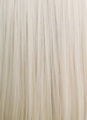 Light Blonde Straight Bob Lace Front Synthetic Wig LF1736