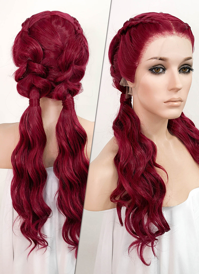 Red Braided 13