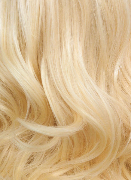 "16"" Wavy Golden Blonde Lace Front Synthetic Wig LF206"