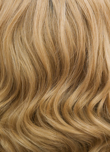 "11"" Short Curly Light Brown Lace Front Synthetic Hair Wig LF326"