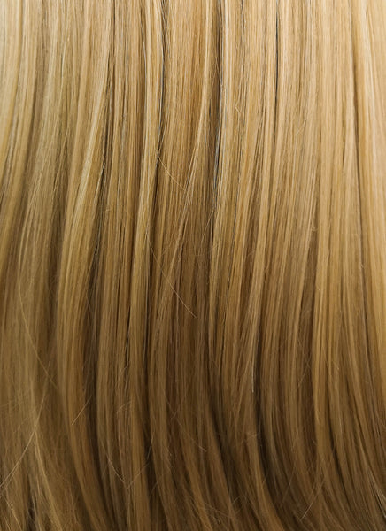 "24"" Long Straight Medium Blonde Lace Front Synthetic Hair Wig LF331"