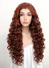 Auburn Curly Lace Front Synthetic Wig LF5027