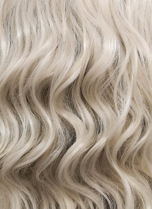 Wavy Ash Blonde Bob Lace Wig CLF831B (Customisable)