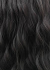Wavy Natural Black Lace Front Synthetic Wig LFB095