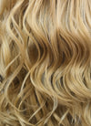 Wavy Golden Blonde Lace Front Synthetic Wig LFB119