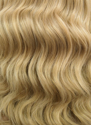 Blonde Wavy Bob Lace Front Synthetic Wig LFB418